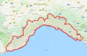 Wilderness IT - Regione Liguria - Cartina